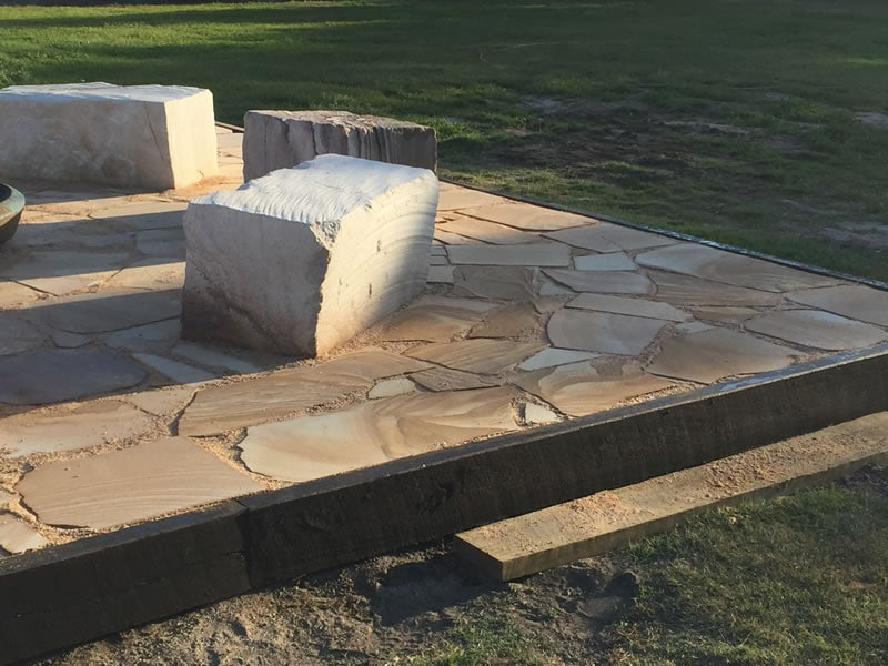 Brisbane Fire Pit Construction 2