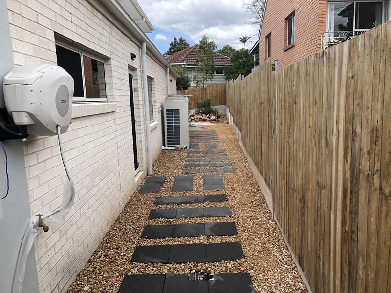 paving stones for side of house
