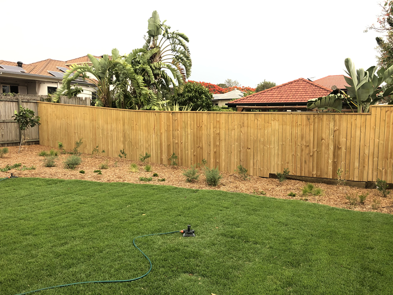 laying turf and landscaping North Lakes