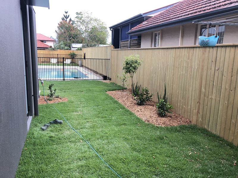 laying turf and landscaping Caboolture