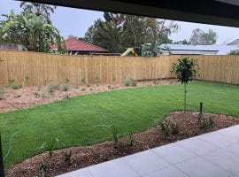 Laying of turf and landscaping Caboolture