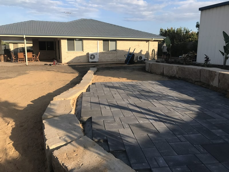 landscaping paving service